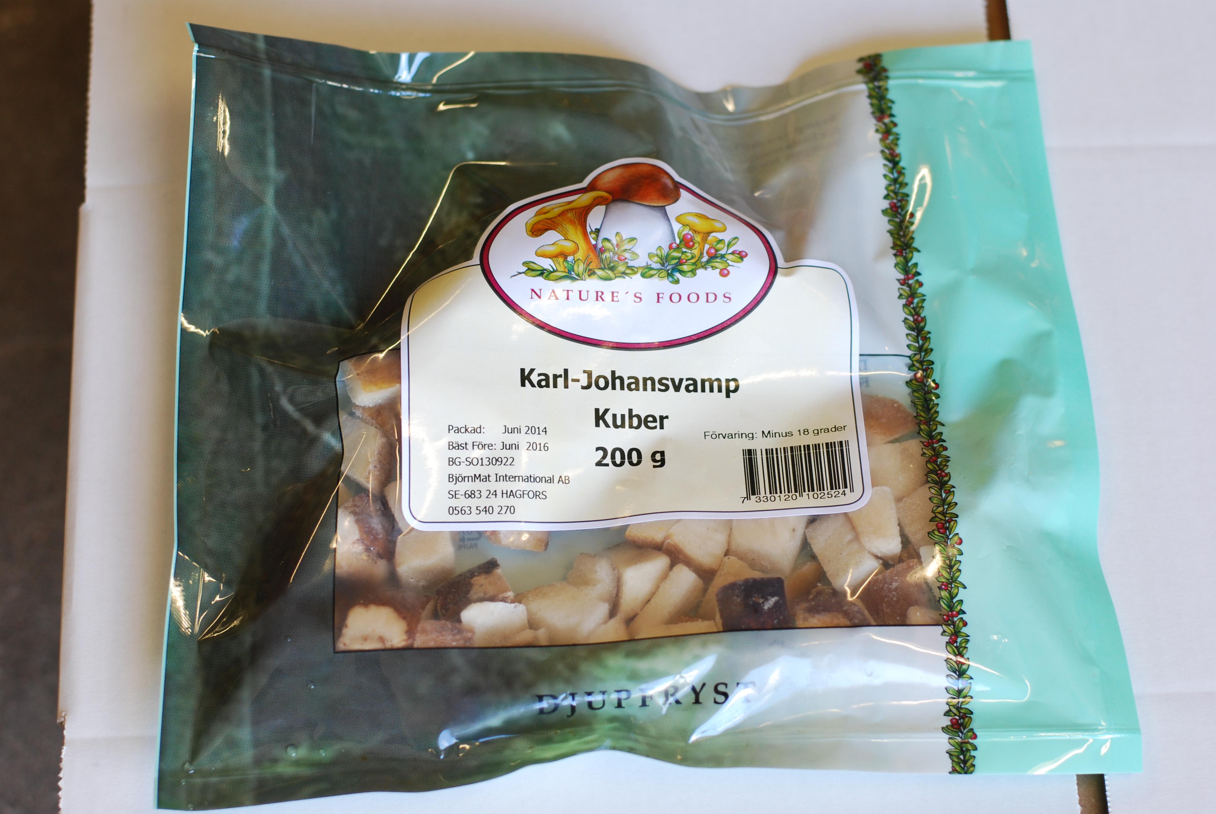 Karl-Johansvamp-kuber 200gr